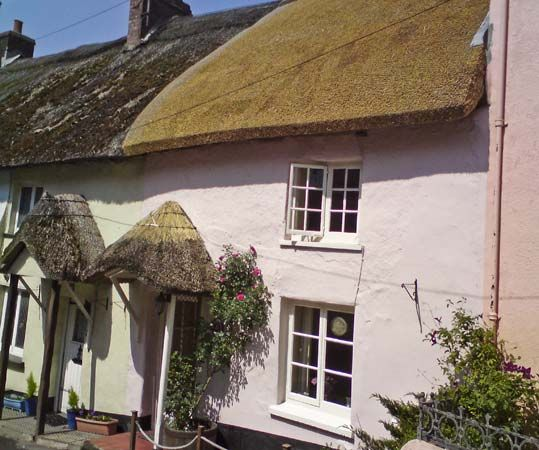 Rose Cottage in Devonshire village of Bishops Tawton