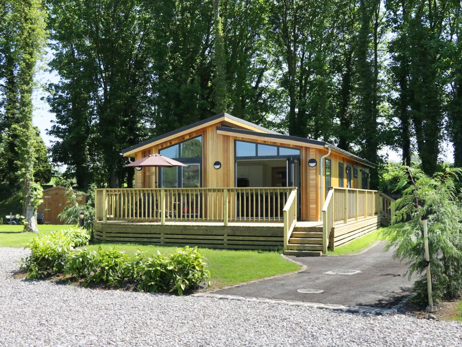 Squirrel Lodge at Gargrave near Skipton Holiday Lodge in Yorkshire Dales